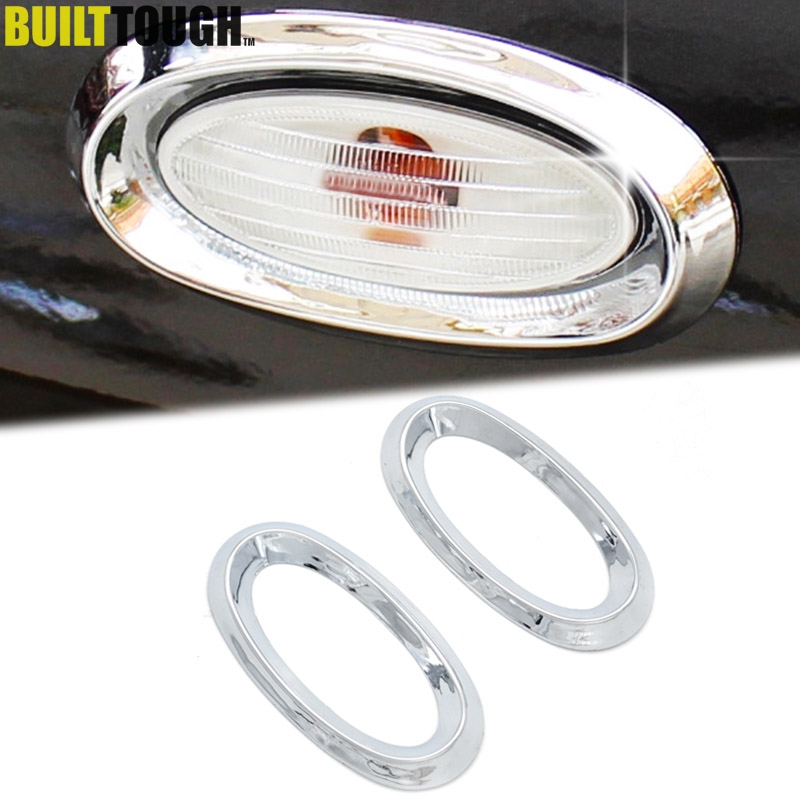 Side Signal Turn Light Cover Trim Garnish Fit for Nissan X-Trail T31 2008-2013
