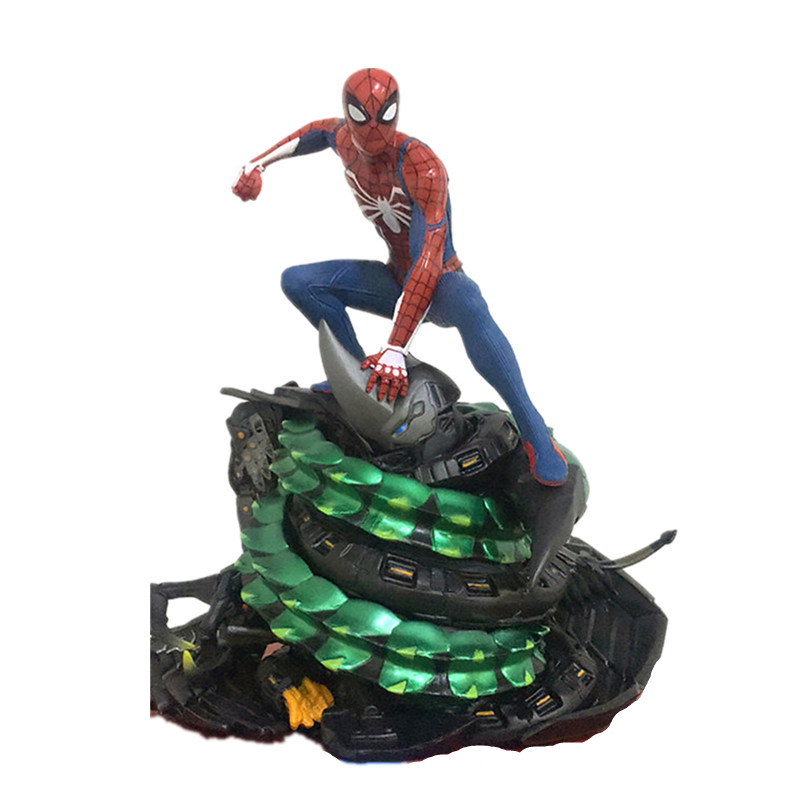 Spider-Man:Homecoming Tobey Maguire Superhero Spider-Man PVC Scenes Statue Action Figure Collection Model Toy X676Spider-Man:Homecoming Tobey Maguire Superhero Spider-Man PVC Scenes Statue Action Figure Collection Model Toy X676