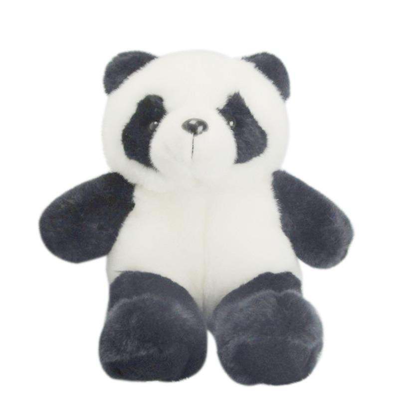 25CM Stuffed Animal Panda Bear Plush Doll Toy Birthday Valentine Christmas Gift 88 M09 1pc 12cm kawaii lover couple valentine s day gift novelty mascot doll toy plush papa bear panda pendant for mobile phone charm