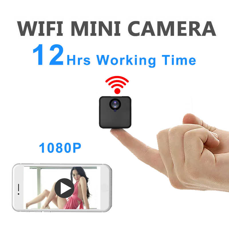 Invisible Night Version Wifi IP Mini Camera Wireless 1080P for Video Recording Support Remote Control Portable hidden Recorder