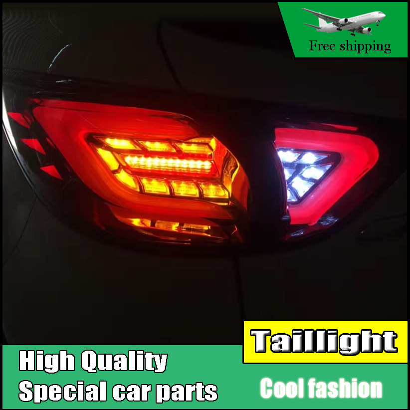 Car Styling TailLight Case For Mazda CX-5 2013 2014 2015 Taillights Full LED Tail Lamp Rear Lamp DRL+Brake+Park+Signal light car styling cx 5 taillight 2012 2016 led free ship 4pcs cx 5 fog light car covers cx 5 tail lamp chrome cx 5 cx5