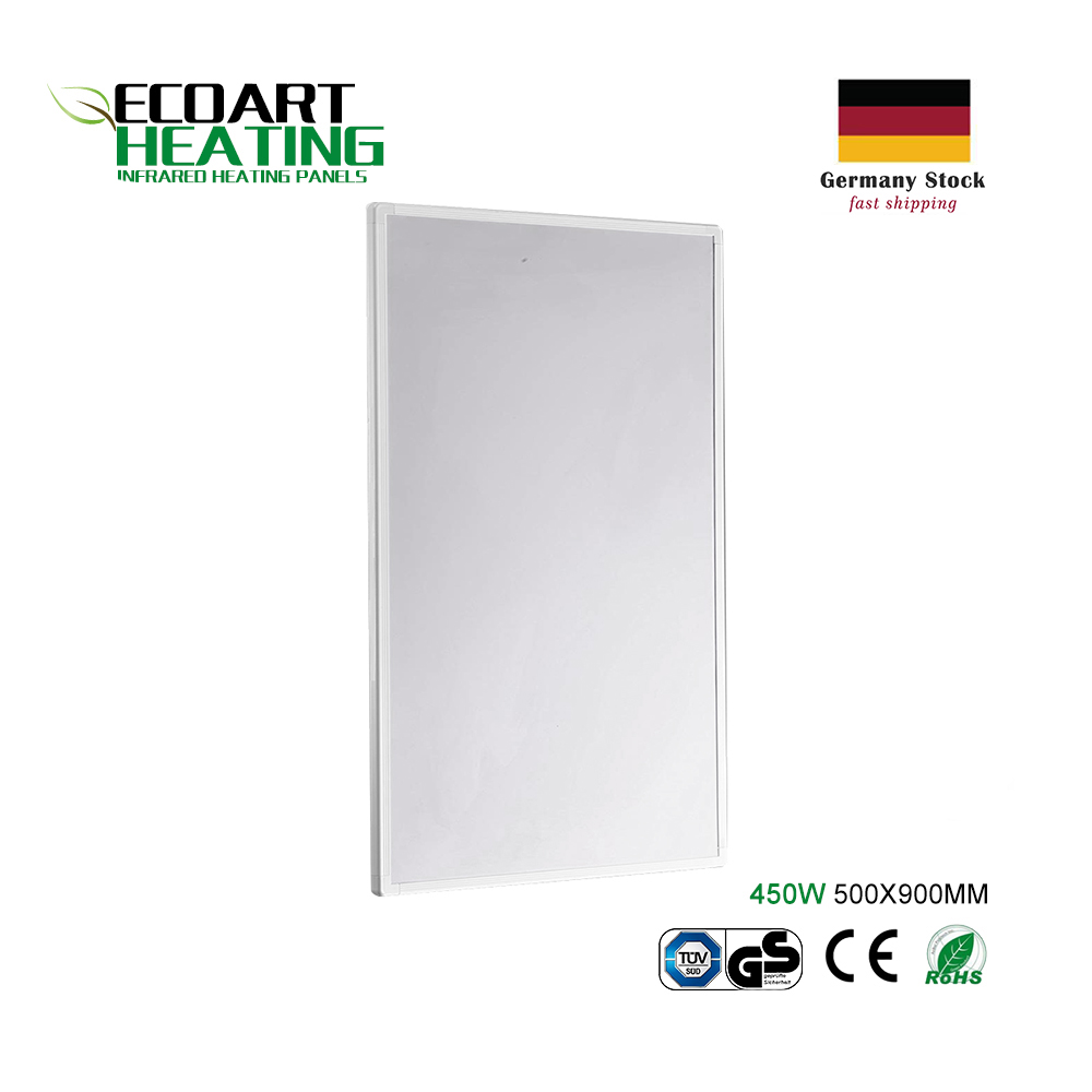 450 watts Infrared Heater Panel Super Slim High Efficiency Home Electric Radiator Germany Warehouse