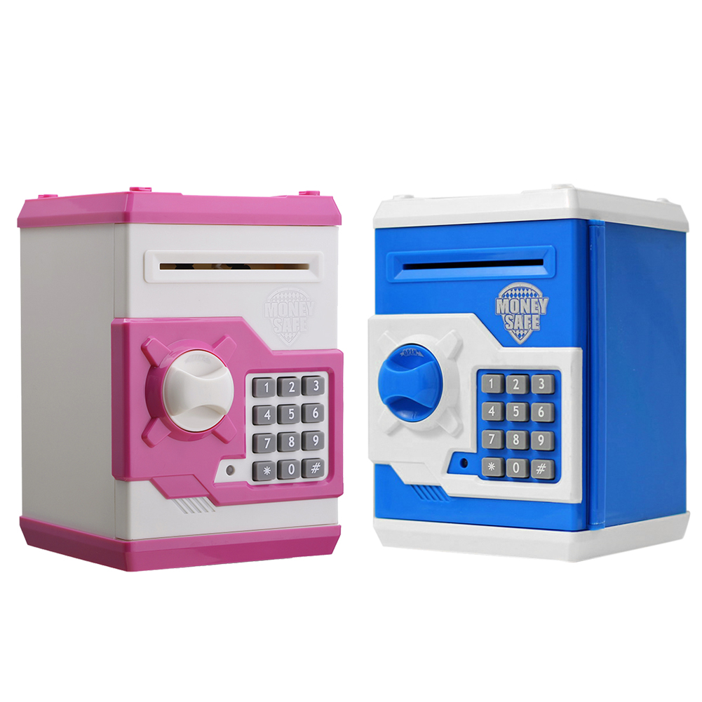 Color booth online - 2016 New Keep Your Money Piggy Metal Piggy Money Telephone Booth Kids Coin Saving
