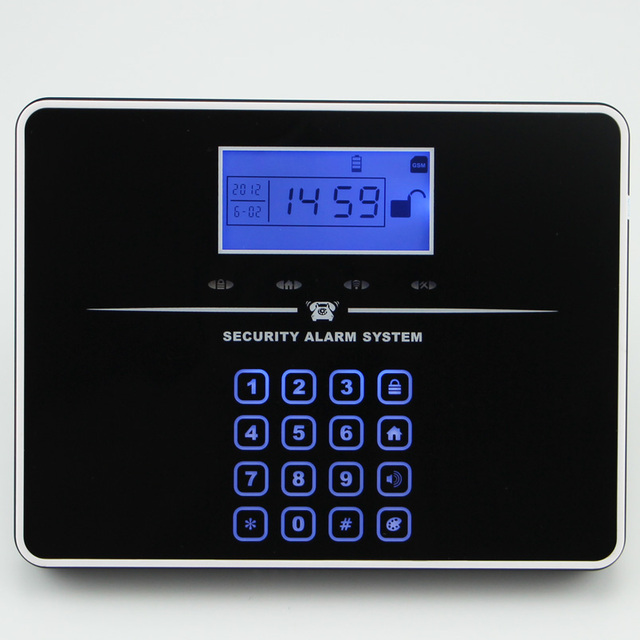 English/Russian Voice GSM Autodial Home Security Alarm System+iOS App/ Android App Sensor telephone Alarm Security System home