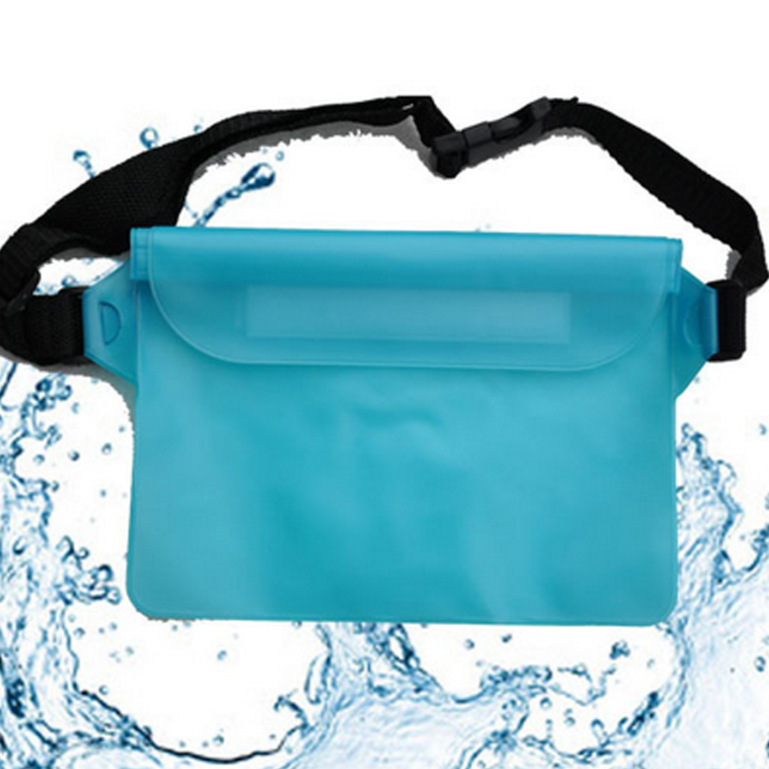 Waterproof Swimming Drifting Diving Waist Bag Underwater Dry Shoulder Backpack Waterproof Waist Belt Pocket