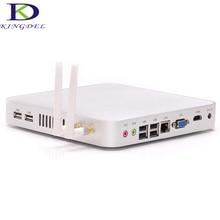Barebone мини настольных ПК Intel Celeron 1007U 1017U 1037U Dual Core 1.5 ГГц/1.8 ГГц, Wi-Fi 1080 P HDMI 3D компьютерной игры