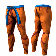 New 2017 Dragon Ball Pants Compression Trousers Fitness Quick Dry Pant Tight 3D Dragon Ball Z Anime Men Vegeta Goku Pant JOLAYK