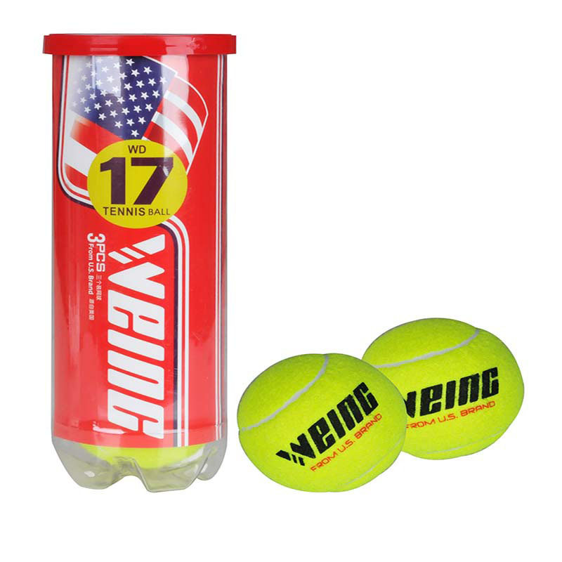 WEING Genuine High Resilience, Anti Abrasion, Regular Tennis, 3 Professional Training, Tennis Practice, Beginner's Ball