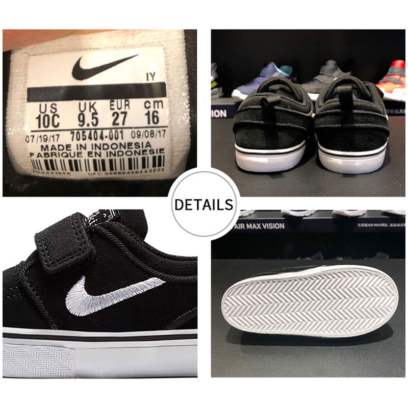 sports shoes 13c64 3ec5f Nike SB Stefan Janoski Girl Kids Skateboarding Shoe Lightweight Comfortable  Boys Children Casual Sport Sneakers-in Sneakers from Mother   Kids on ...
