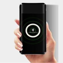 10000 мАч QI Беспроводное зарядное устройство двойной USB банк питания для iPhone 8/XS samsung S8 банк питания USB зарядное устройство беспроводной внешний аккумулятор