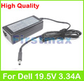 19.5V 3.34A 65W laptop AC power adapter charger for Dell Inspiron 17 5755 5758 5759 P60G P64G Vostro 14 3458 3458D 3459 5459
