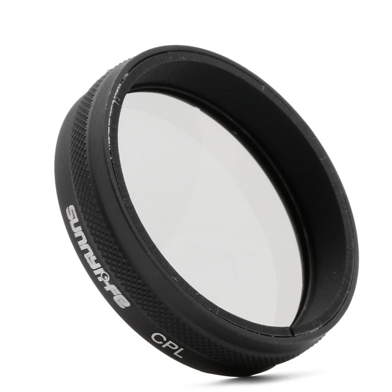1Pc Circular CPL Lens Filter Slim Polarizer For DJI Phantom 3 4 Drone Camera Pro Adv