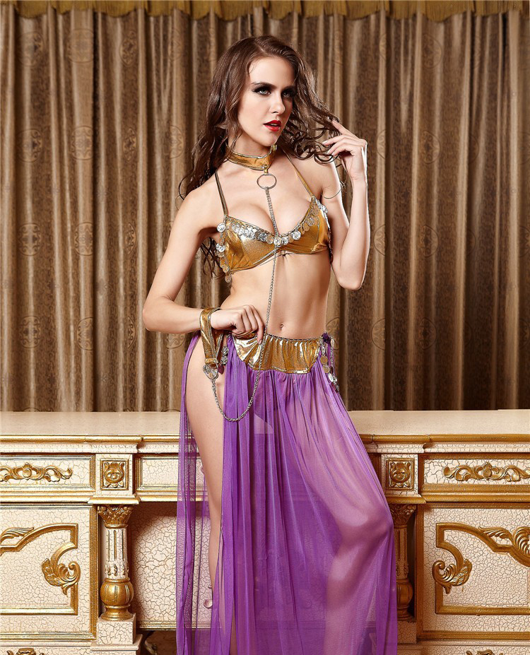 Ensen Arabic Dress Sexy Belly Dancing Arab Dance Skirts Lingerie Suit Cosplay Arab Dance Costumes For Women Stage Performance