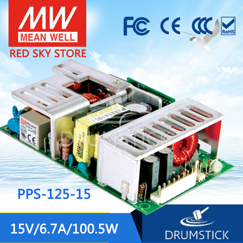 Advantages MEAN WELL PPS-125-15 15V 6.7A meanwell PPS-125 15V 100.5W Single Output with PFC Function [mean well1] original epp 150 15 15v 6 7a meanwell epp 150 15v 100 5w single output with pfc function