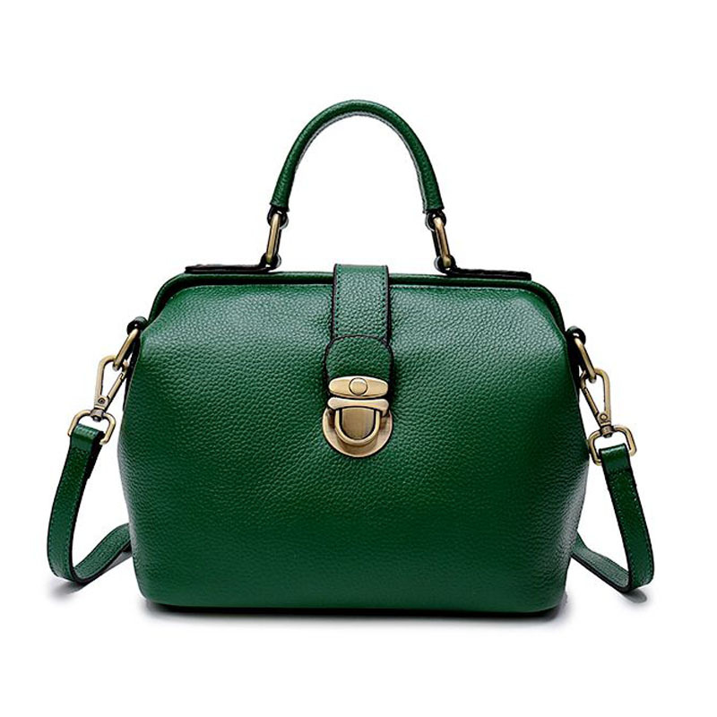 Bags Genuine-Leather Over-Shoulder Ladies New-Fashion Women for Female