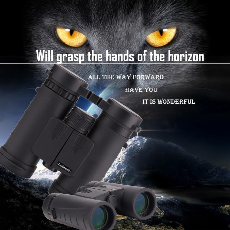 Ledarnell 8x32 Compact Binoculars font b Telescope b font Bak4 Prism Optics Camping Binoculars Neck Strap