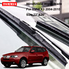 2pcs Front Soft Rubber Windscreen Windshield Wiper Blades For BMW X3 04 10