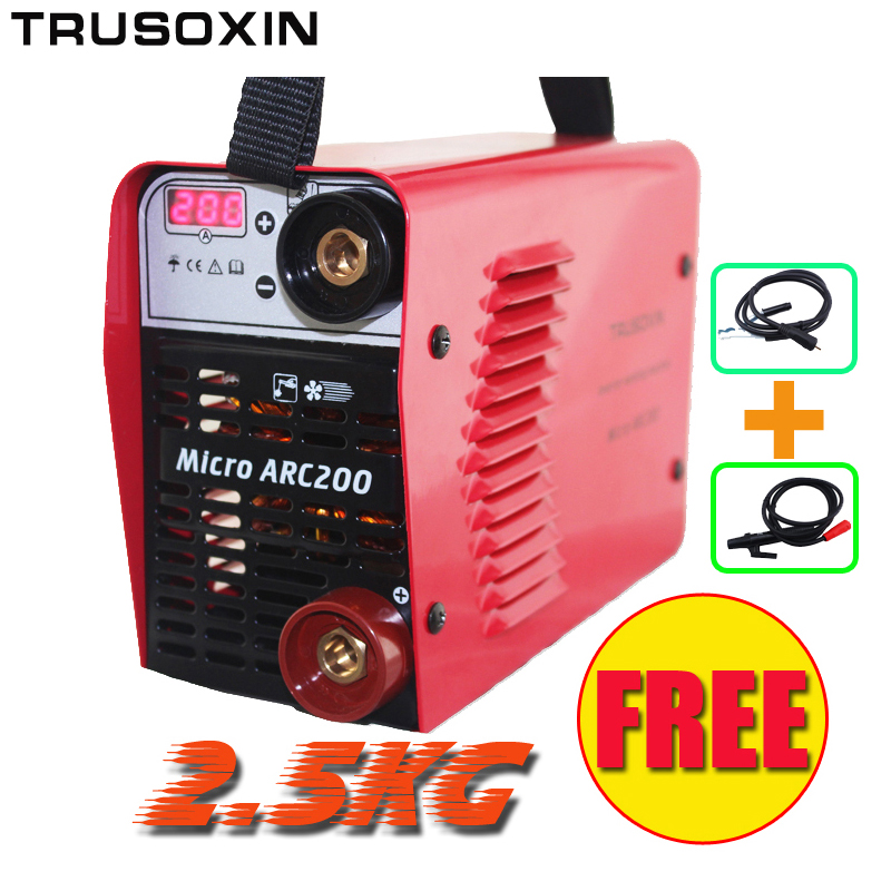 Welding Machine 220V New Portable DIY Mini IGBT Inverter DC Micro MMA Welding Equipment /Welder/Welding Tools With Accessories