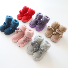 Loose Mouth Baby Slip Toddler Socks 0-3 Years old spring and autumn winter terry  baby socks children's floor socks Christmas baby shoe socks autumn winter cotton thickened 0 1 3 years old baby learn walk socks non slip soft bottom children floor socks