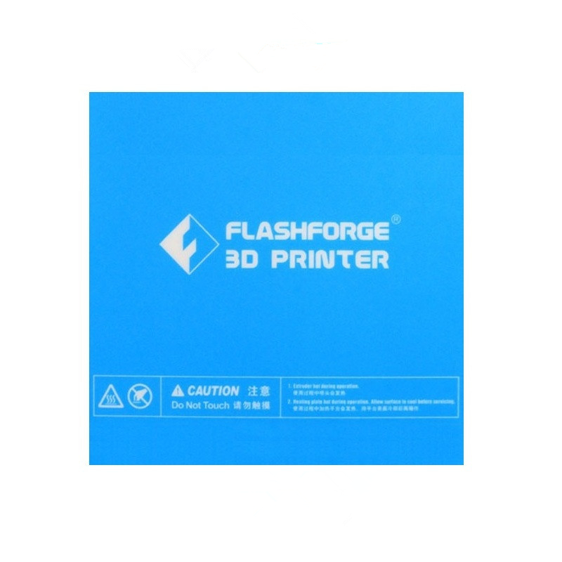 1pcs 157*157mm Blue Heated Bed Tape Print Sticker Build Plate Tape For Flashforge Finder 3D Printer