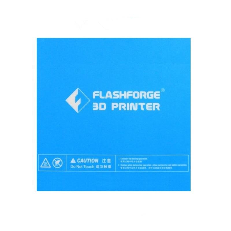 1pcs 157*157mm Blue Heated Bed Tape Print Sticker Build Plate Tape For Flashforge Finder 3D Printer|3D Printer Parts & Accessories|   - AliExpress