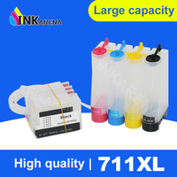 711 T120 T520 New Ciss System ink tank For HP 711 Bulk Ink System For HP711 Designjet T120 T520 Printer Ciss With ARC Chip