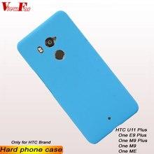 цена на ViewFar Multi Colors Case For HTC U11 One E9 M9 Plus ME Matte Cover U11plus OneM9 OneMe OneE9plus OneM9plus Hard PC Thin Plastic