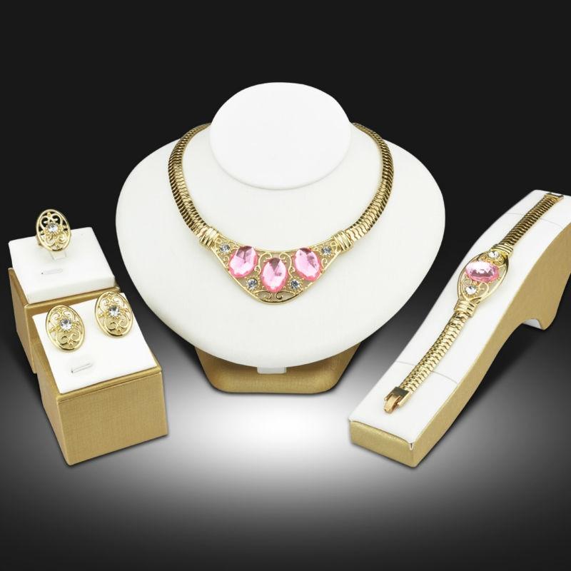 Schmuck Bijoux Jewellery Turkish Women Jewelry Sets Dubai Gold Color Nigerian Wedding African Beads Jewelry Set Sieraden Sets 1