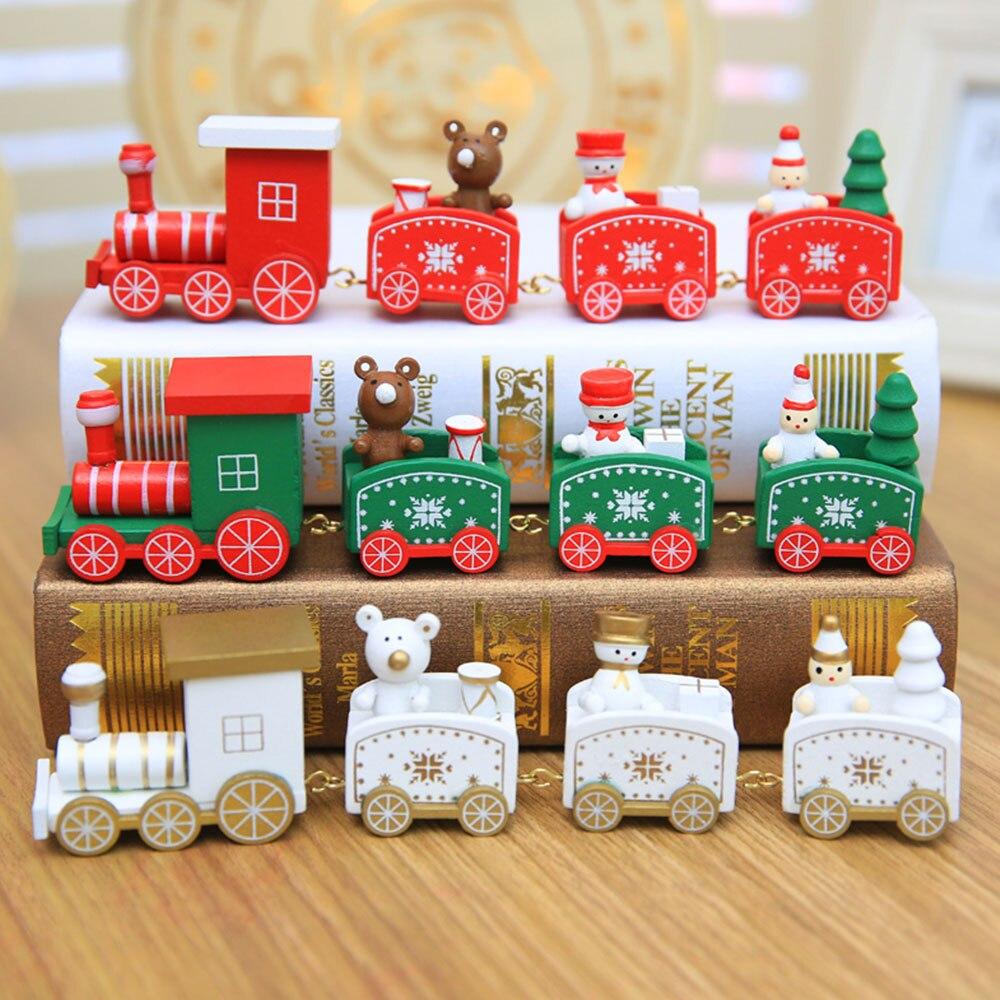 Christmas Train Ornament Decoration Santa Claus Snowman ...