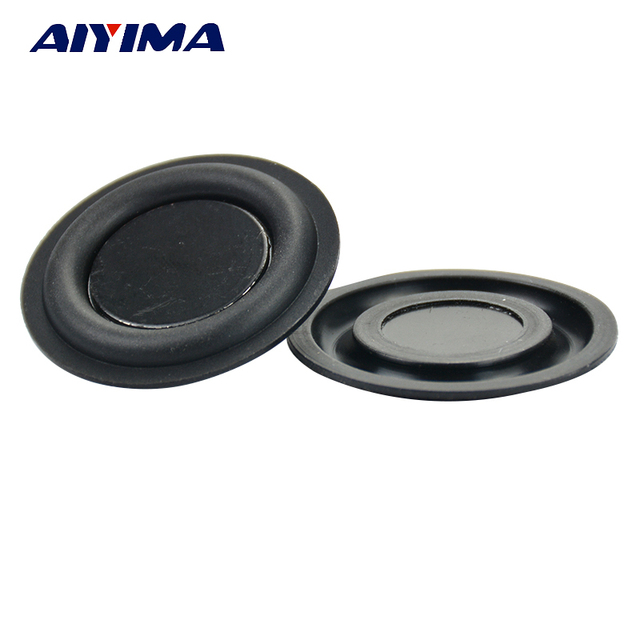 AIYIMA 2 piezas 35 MM de Audio bajo diafragma vibrante radiador pasivo altavoces, la reparación de las piezas de caja de resonancia del radiador DIY