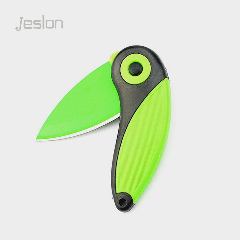 Jeslon Creative Fashion Portable Mini Bird Steel Knife Pocket Folding Knife Kitchen Fruit Paring Knife With