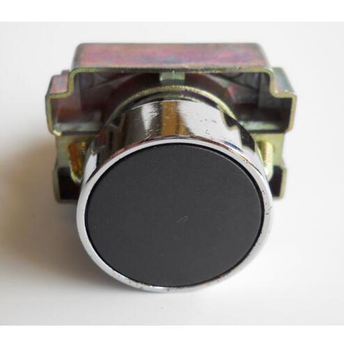 XB2-BA21 черный Самовозвр мгновенный флеш кнопки 1 N/O плоским кнопочный переключатель