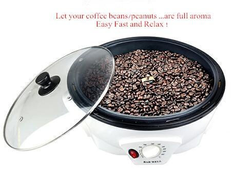 2020 Coffee Bean Or Nuts Roaster Home Use Roaster Kichen Use Coffee Roaster Upgrade  New Design Mini Coffee Bean Peanut Roaster