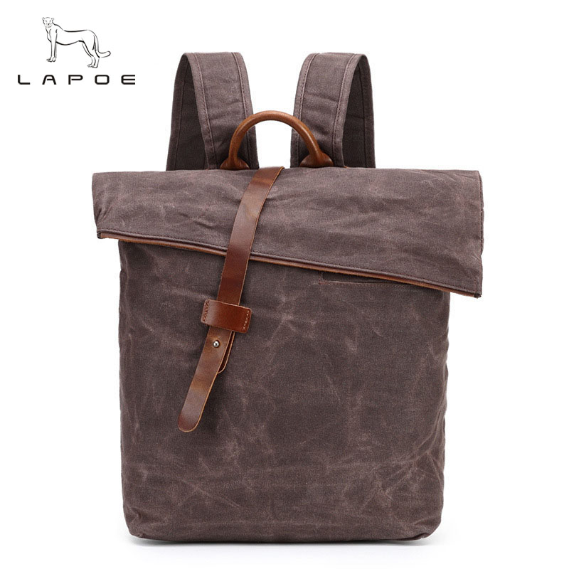 Women Bag Vintage Casual New Arrival Backpack Casual Fashion Student School Backpacks Canvas Large Capacity Laptop Backpacks jmd backpacks for teenage girls women leather with headphone jack backpack school bag casual large capacity vintage laptop bag
