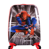 18 inch Spider man Travel Luggage hero Suitcase Hardside Suitcase On Wheels