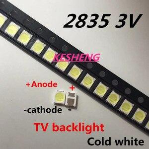 200piece/lot for repair Konka Skyworth Changhong LCD TV LED backlight SMD LEDs Ju-fei 2835 3V Cold white light emitting diode(China)
