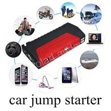 Лидер продаж красный 2 USB Порты и разъёмы Multi-Функция Портативный батарея аварийного автомобиля Пусковые устройства аварийного Мощность автоматического запуска банк booster