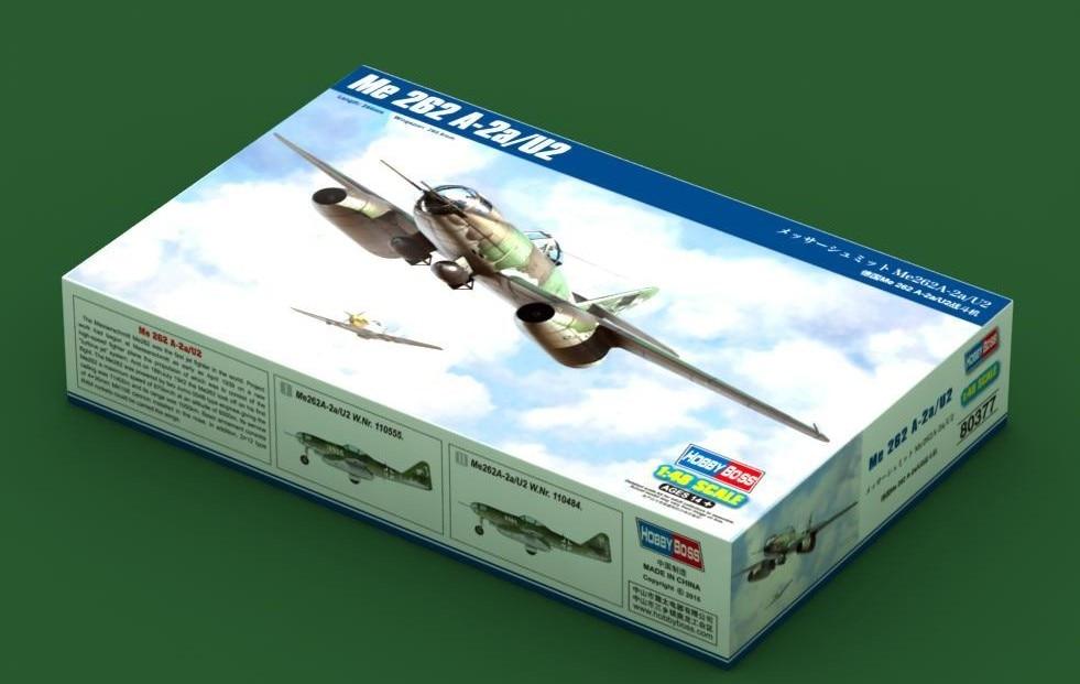 HobbyBoss 80377 1 48 Me 262 A 2a U2