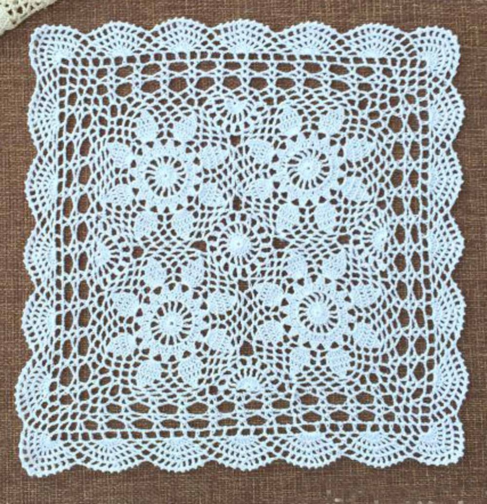 100% cotton designing crochet patterns handmade crochet square ...