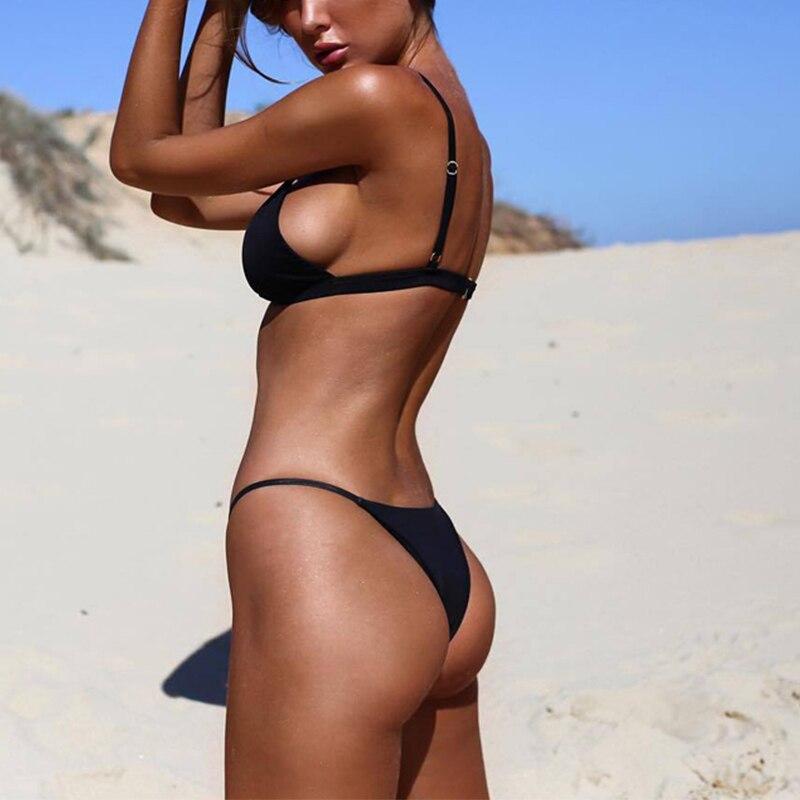 Sexy Bikini 19 Push Up Micro Bikinis Women Swimming Suit Brazilian Bikini Set Swimsuit Swimwear Women Bathing Suit Beachwear 11