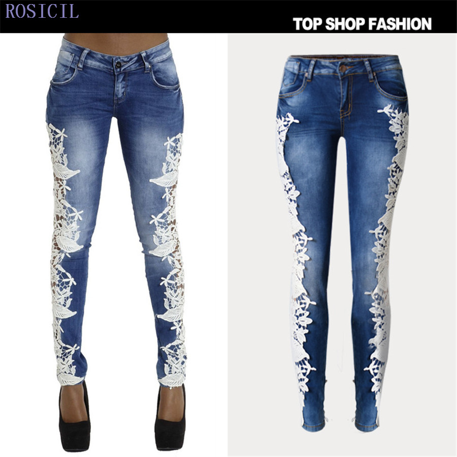 ROSICIL Jeans For Women Thicken Pants Winter Jeans Female Stretch Straight Fashion High Waist Jeans Femme Denim Pants TSL006-D# rosicil new women jeans low waist stretch ankle length slim pencil pants fashion female jeans plus size jeans femme 2017 tsl049