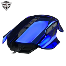 James Donkey 007 Laser Changeable Gaming mouse 8200dpi backlight wired Programming game USB For Laptop PC Computer RTS FPS LOL