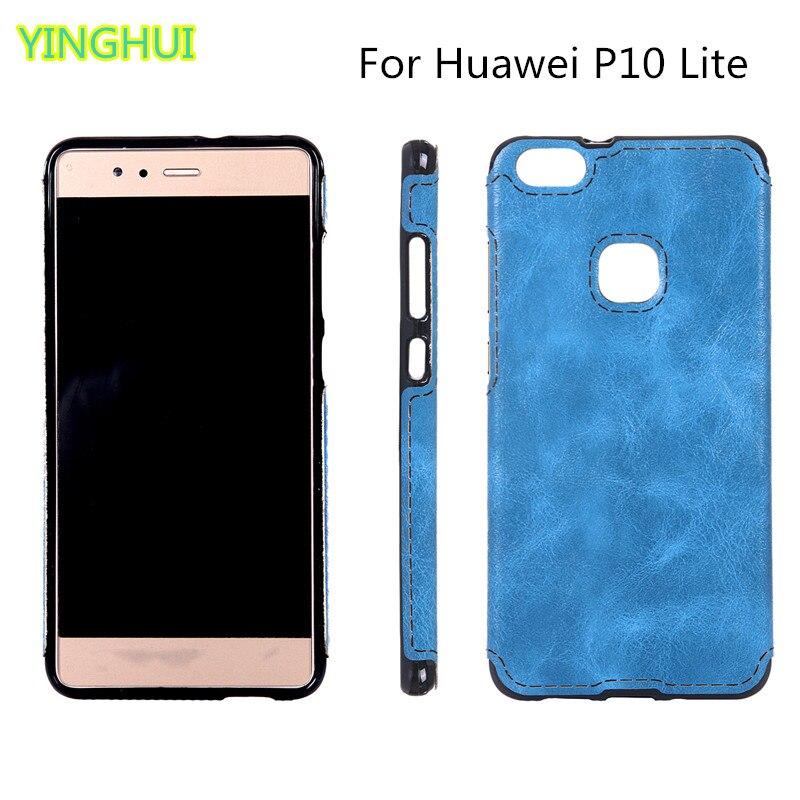 Új TPU puha héjú Huawei P10 Lite tok - 5,2 hüvelykes tok - - Mobiltelefon alkatrész és tartozékok