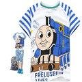 Niños Thomas y Amigos Winny La Poosh T-shirt Muchachas de Los Bebés de Algodón de manga Corta Camiseta Tops Tees Verano de Los Cabritos ropa