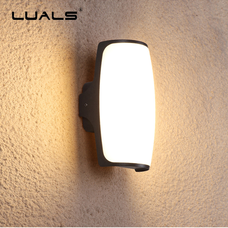 Fashion Modern LED Wall Lights PC lampshade Art Wall Lamp Luxury Villa Wall Lamps Hallway Lighting Indoor Outdoor Patio Light outdoor wall lights simple modern wall light waterproof led wall lamp luxury villa aluminum wall lamps hallway art deco lighting