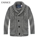 Boys Cardigan 2017 Spring Autumn New Baby Kids Sweater Brand Children Jacket 2-8 Years Old Boy's Sweater Cardigans Kids Boy Coat