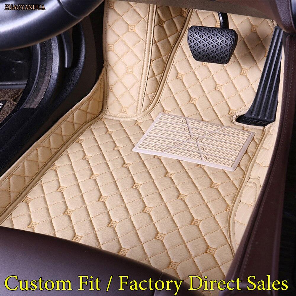 ZHAOYANHUA Car floor mats for Lexus CT200h ES250/350/300h RX270/350/450H GX460h/400 LX570 LS NX 5D car-styling carpet linersZHAOYANHUA Car floor mats for Lexus CT200h ES250/350/300h RX270/350/450H GX460h/400 LX570 LS NX 5D car-styling carpet liners