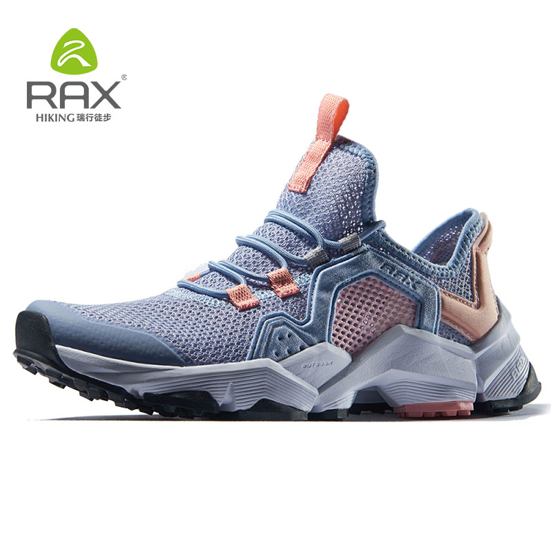 RAX Women Gym Running Shoes Outdoor Sports Breathable Lightweight Air Mesh Mountain Running Shoes Women Gym Sports Sneakers