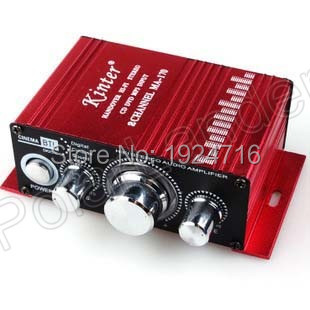 Kinter MA-170 Fashion Mini 2CH Hi-Fi Stereo Amplifier Booster DVD MP3 Speaker for Car Motorcycle Boat home top quality price