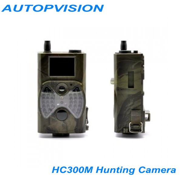 Scouting hunting camera HC300M HD GPRS MMS Digital 940NM Infrared Trail Camera GSM 2.0' LCD Hunter hc300m scouting hunting camera gprs mms digital 940nm black infrared trail camera solar panel battery